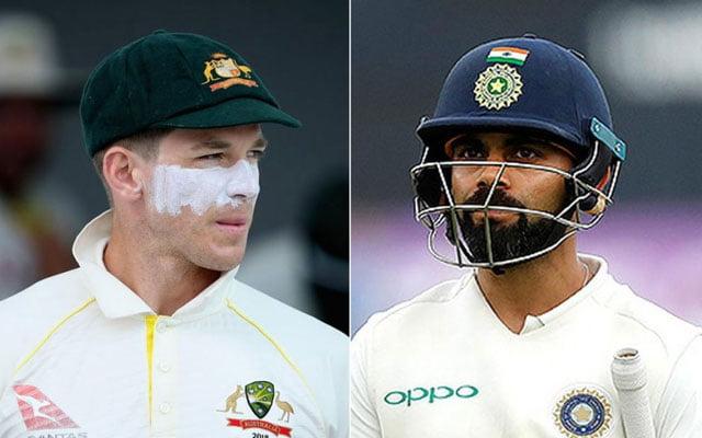 India Australia test