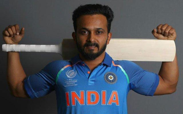 Indian cricketer Kedar Jadhav