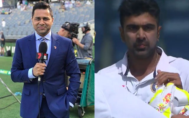 Aakash Chopra and Ravichandran Ashwin