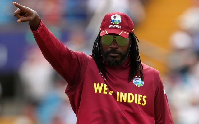 West Indies batsman Chris Gayle