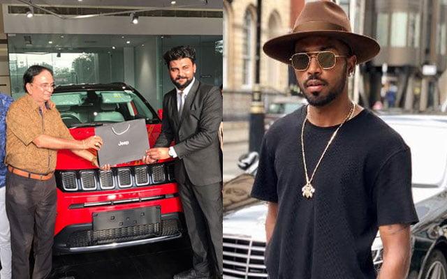 Hardik Pandya surprised his Dad with car
