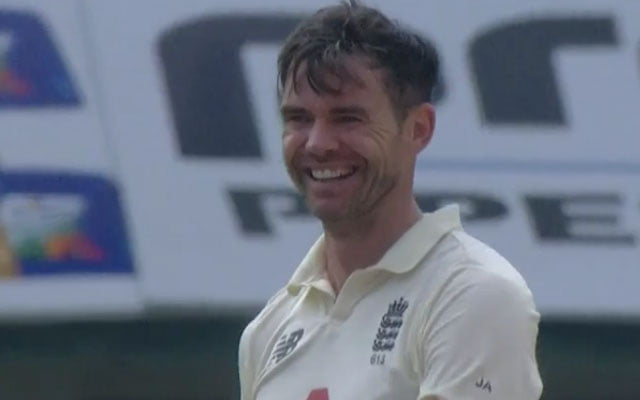 James Anderson against India