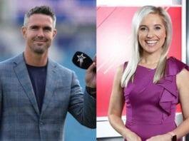 Kevin Pietersen and Chloe-Amanda Bailey