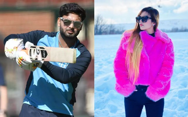 Rishabh Pant and Isha Negi