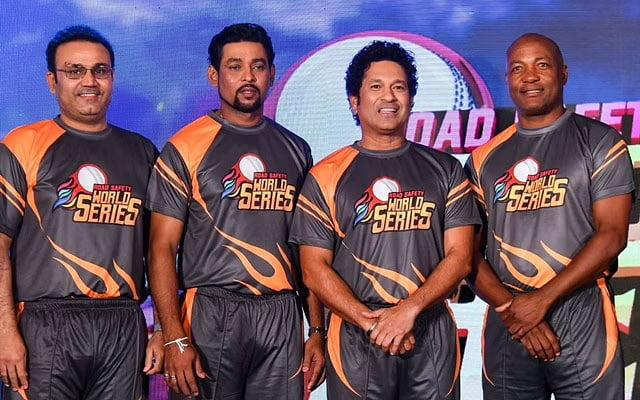Virender Sehwag, Tillakaratne Dilsha, Sachin Tendulkar and Brian Lara