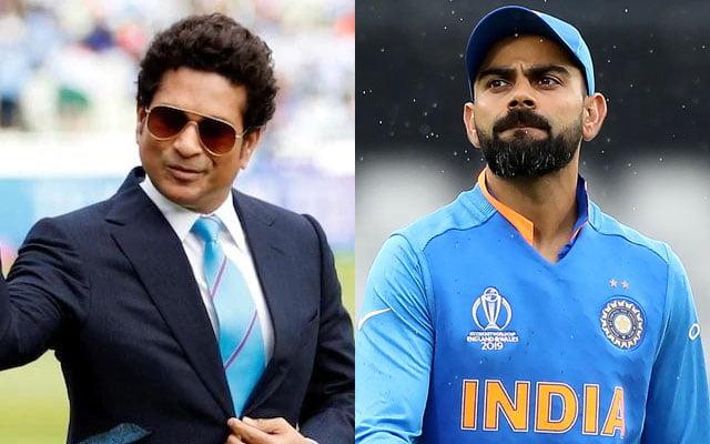 Sachin Tendulkar and Virat Kohli tweets