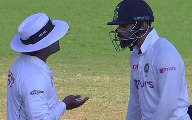 Virat Kohli angry on Umpire