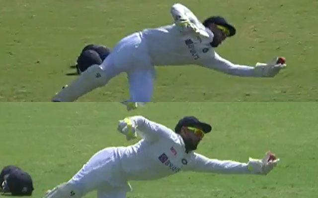 Rishabh Pant catches