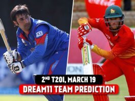 AFG vs ZIM 2021 Dream11 Team Prediction