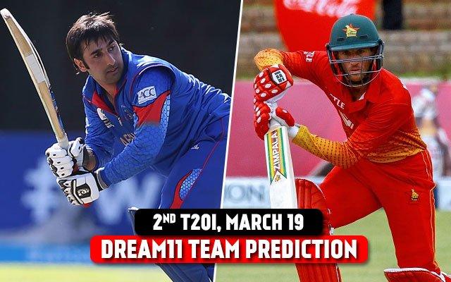 AFG vs ZIM 2021 Dream11 Team Prediction