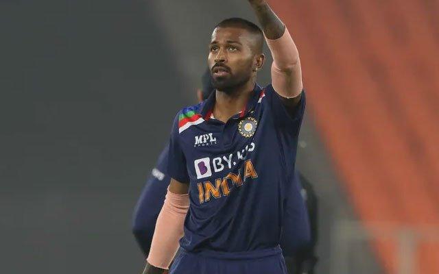 Indian all-rounder Hardik Pandya