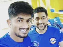 Harishankar Reddy and MS Dhoni