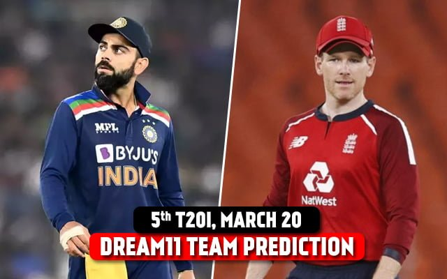IND vs ENG Today's Match Dream11 Team