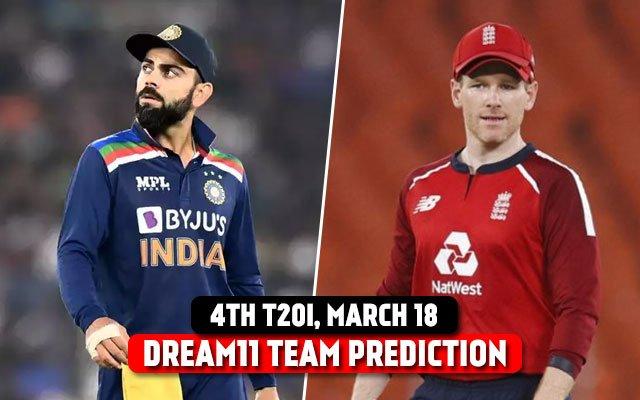 India vs England 4th T20I Dream 11 Prediction and Tips