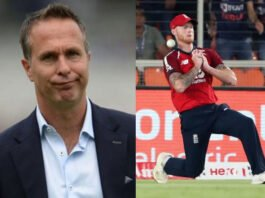 Michael Vaughan and Ben Stokes