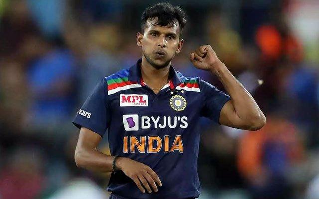 Indian pacer T Natarajan