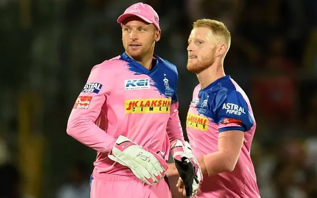 Jos Buttler and Ben Stokes Rajasthan Royals