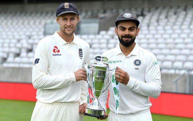 England and India Test Series
