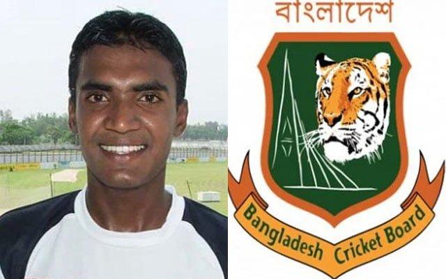 Bangladesh cricketer Manjural Islam Rana