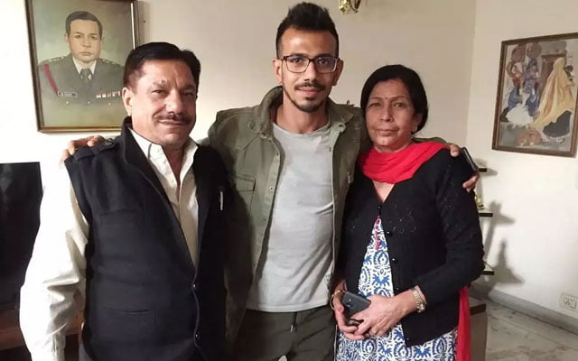 Yuzvendra Chahal parents tested COVID positive