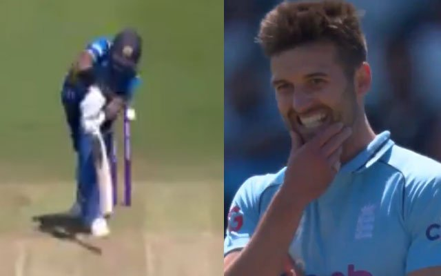 Mark Wood magical delivery to Kusal Perera