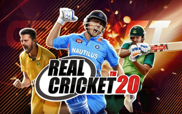 One of the best Android Game Real Cricket 20