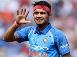 Indian bowler Siddharth Kaul