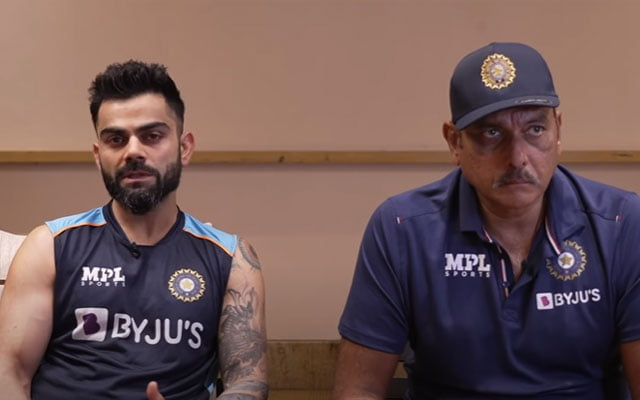 Virat Kohli and Ravi Shastri Press Conference