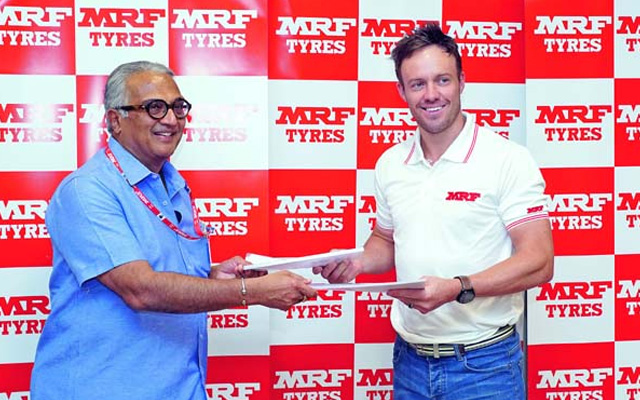 AB de Villiers Brand Endorsement