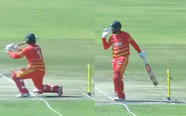 Brendan Taylor hit-wicket