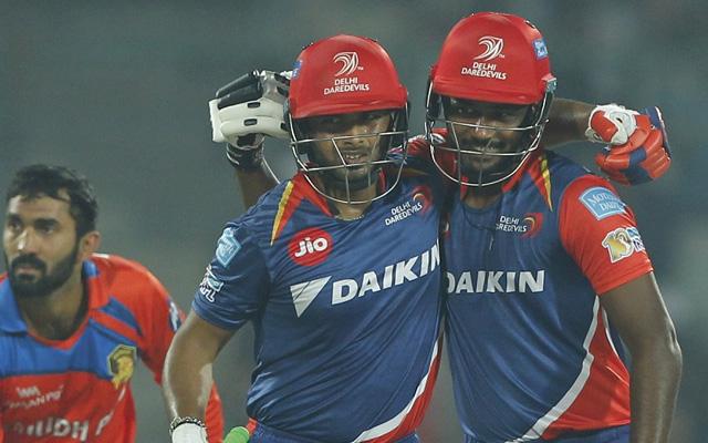 Delhi Daredevils - 209 vs Gujarat Lions in 2017