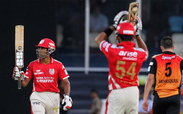 Kings XI Punjab - 206 vs Sunrisers Hyderabad in 2014
