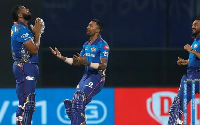 Mumbai Indians - 218 vs CSK in 2021