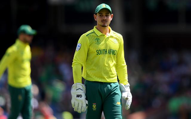 Best wicket-keeper in the world at present Quinton de Kock