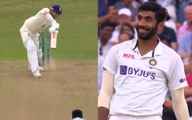 Jasprit Bumrah bowled James Anderson