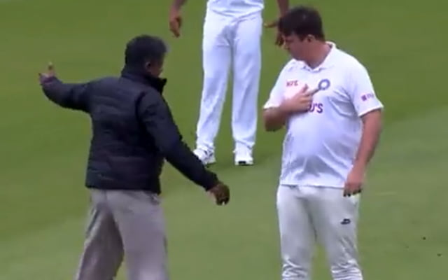Pitch Intruder at Lord's