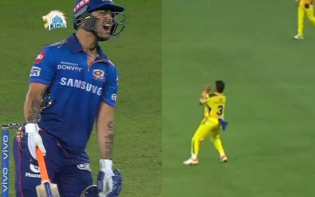 Ishan Kishan wicket against CSK