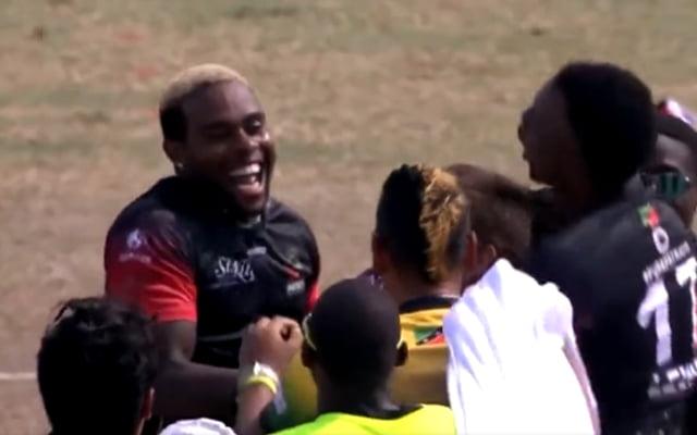 St Kitts and Nevis Patriots celebration